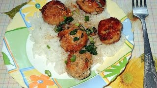How To Make Thai Chicken Balls With Jasmine Rice - Diy Food & Drinks Tutorial - Guidecentral