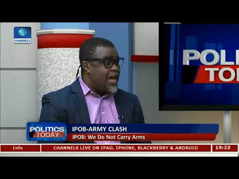 Analysts Suggest Alternative Solutions To IPOB/Army Rift |Politics Today|
