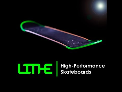 Lithe Carbon Fiber Skateboard - Indiegogo Campaign Video