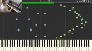Secret - Time Travel Theme [Synthesia] (Jay Chou, piano tutorial, midi download)