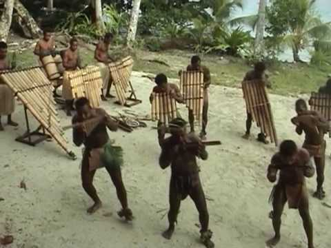 Pan Pipers from Santa Isabel, Solomon Islands (3)