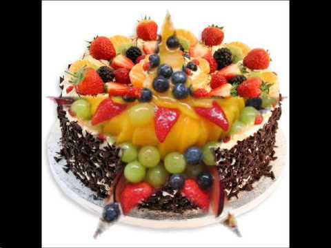 fruit cake decoration ideas - YouTube