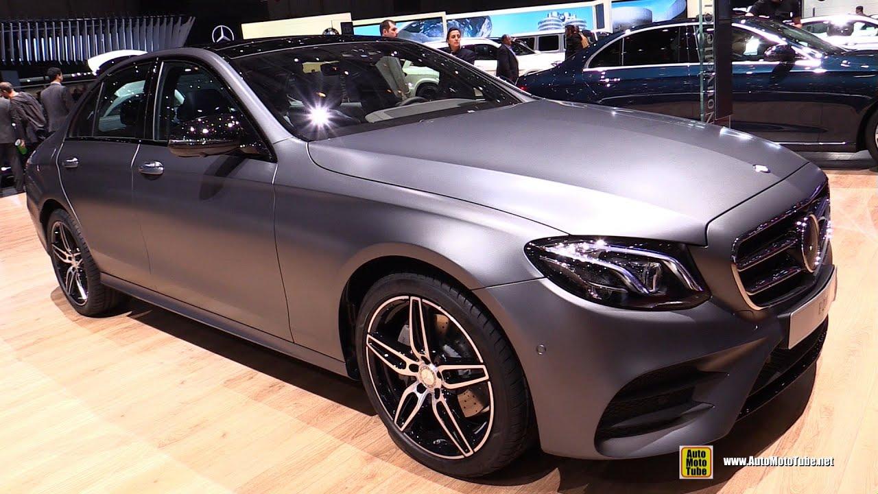 2016 Mercedes E200 Exterior And Interior Walkaround Geneva Motor Show