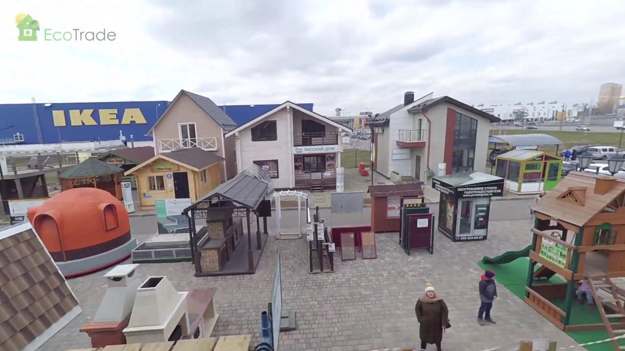 Каркасный дом 10 на 14 м на юге Моск области. Строй и Живи. - YouTube
