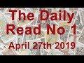 The Daily Read (no 1) - Destiny calls! Let go - April 27th 2019 - Tarot Reading