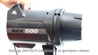 master foto video elinchrom brx 500 500 to go zibspuldžu komplekts