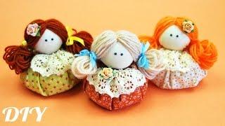 Как сделать КУКЛУ Зерновушку / How to make Textil Doll / ✿ NataliDoma