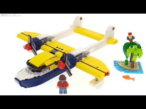 LEGO Creator Seaplane Adventures 3-in-1 review 🌴 31064