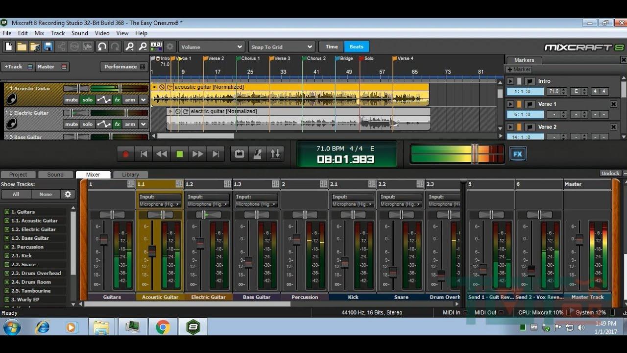 Mixcraft 8 crackeado
