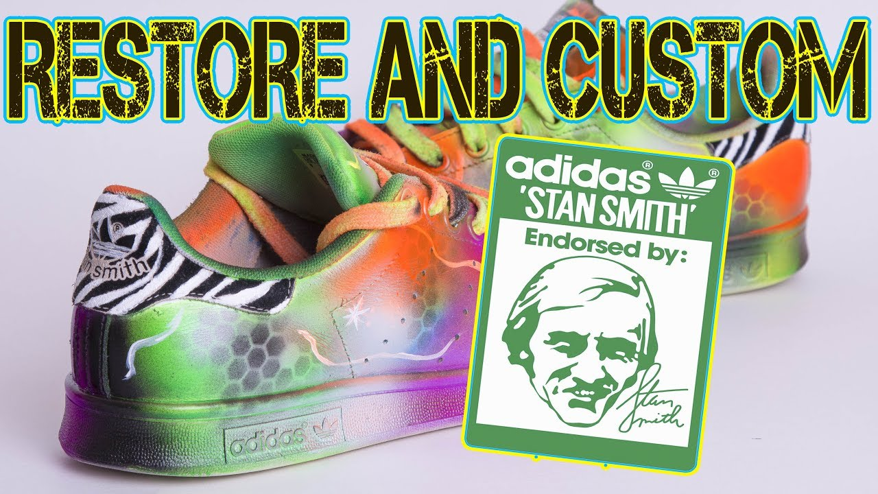 Adidas Stan Smith RESTORE and CUSTOM