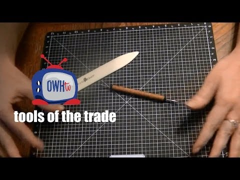 OWHtv Tools of the Trade! Episode 1 : Bone Folder and Scoring Tool
