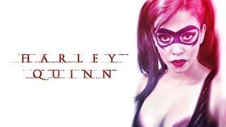 Harley Quinn Makeup Inspired - Maquiagem da Arlequina- fashionosolhos.com