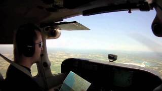 Pilot radio communications (with captions)
