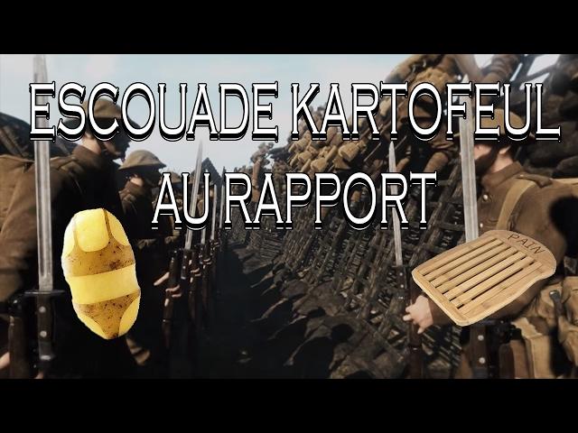 [Claudius & Claudince] ESCOUADE KARTOFEUL AU RAPPORT (Verdun)