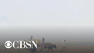 India blames farmers for dangerous air pollution