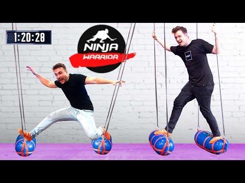 CLICK NINJA WARRIOR CHALLENGE!