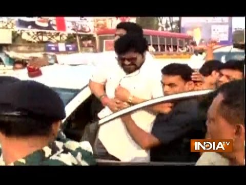 Union Minister Babul Supriyo Allegedly Attacked By TMC Workers In Asansol