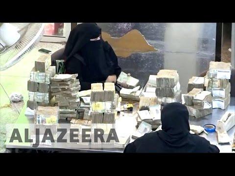 Yemen's finance system under strain
