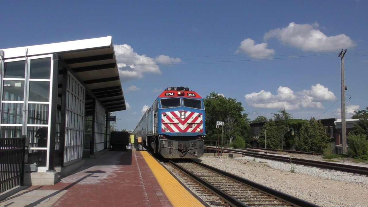metra activity on the rock island district while chasing nkp 765