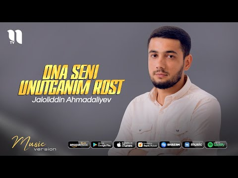 Download Jaloliddin Ahmadaliyev - Ona seni unutganim rost (audio 2021)