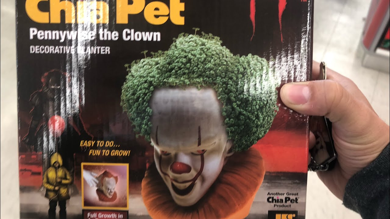They Made A Chia Pet It Movie 2017 Pennywise The Clown Youtube