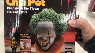 They made a Chia Pet IT movie 2017 Pennywise the clown