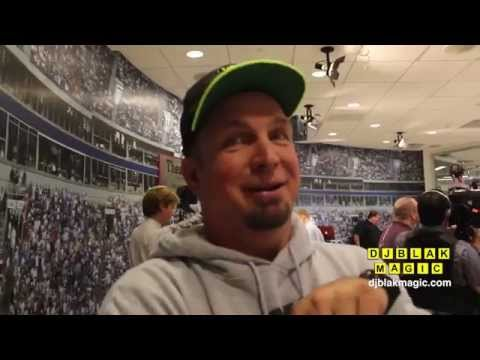 DJ BLAK MAGIC Interview With Garth Brooks