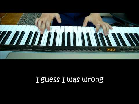 Justin Timberlake - What goes around comes around HD Karaoke/Piano Cover by Sam Masghati