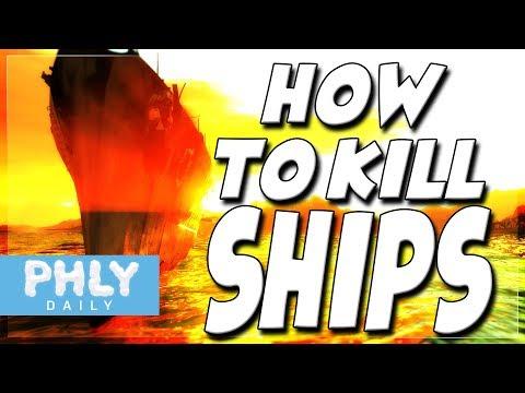 How TO KILL SHIPS EASY | 1 Shot Ammo Detonation (War Thunder Ship Gameplay)