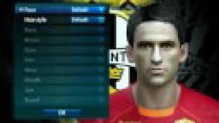 Faces for Pro Evolution Soccer  2008 ( PES 2008 )