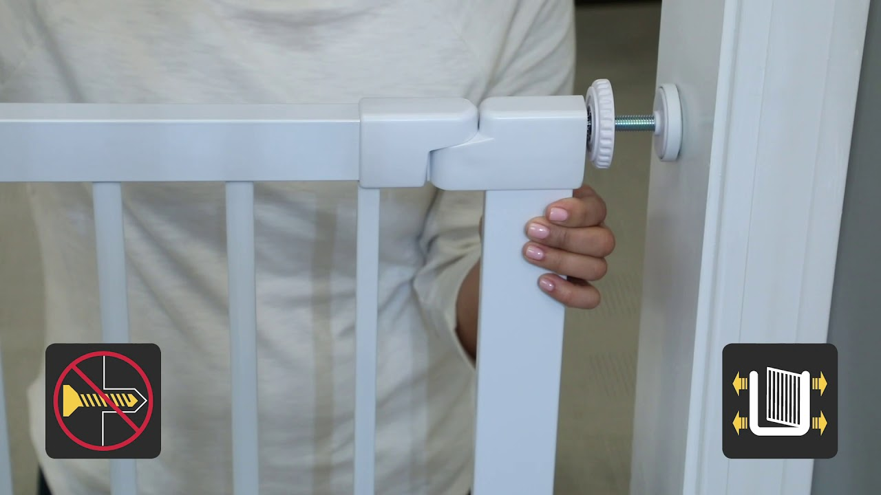 Safety 1st Flat Step Gate Instruction Video Youtube