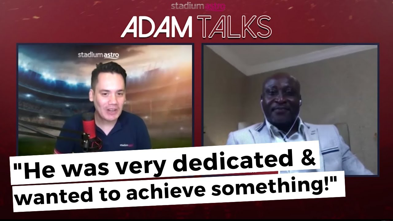"Yeboah: ""He was very dedicated and wanted to achieve something!"" 