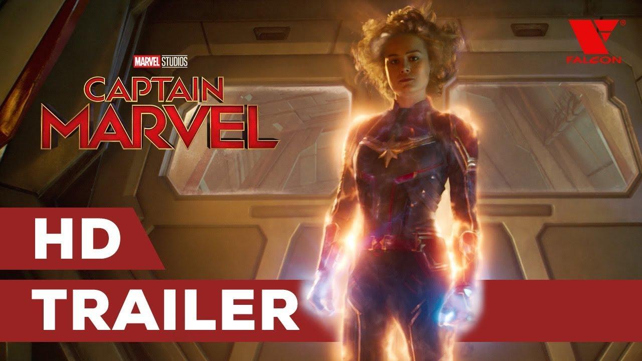 Captain Marvel (2019) HD trailer #2 | CZ titulky