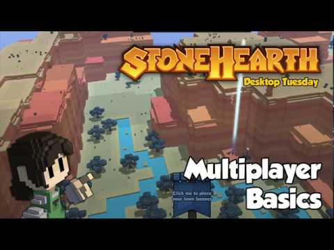 Stonehearth Desktop Tuesday: Multiplayer Basics