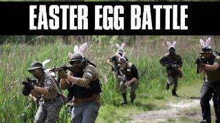 Airsoft Easter egg Battle - Ballahack Airsoft Field