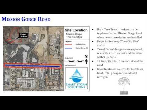 City of Santee Alternative Stormwater Compliance Program Video Presentaion