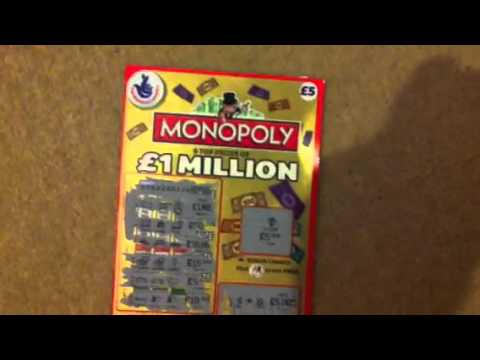 Monopoly Scratch Card