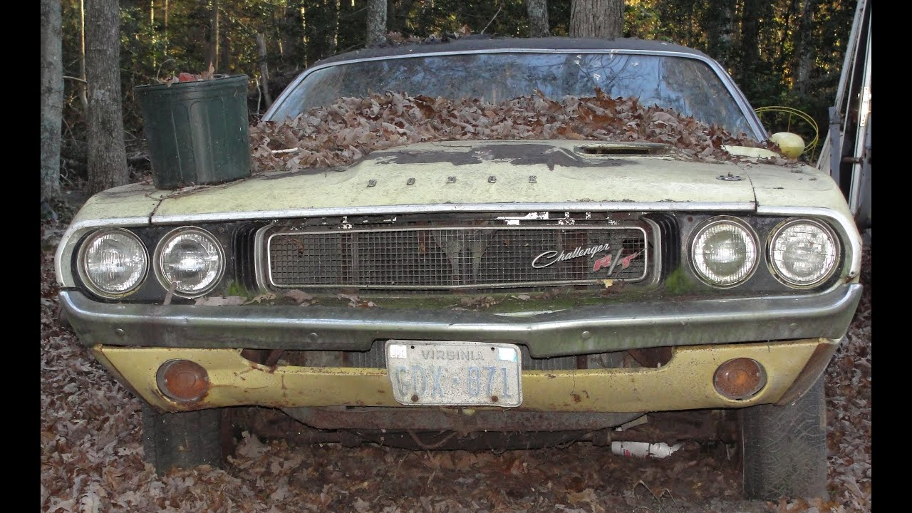Quot Omg Quot Look What We Found 1970 Dodge Challenger Rt