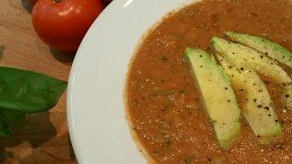 Doug Cooking - Garden Gazpacho