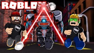 ROBOT SIMULATOR in ROBLOX / BLOX4FUN
