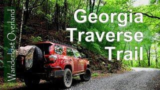 Georgia Traverse Trail Oveŗland Route