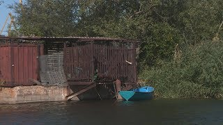 На берегу Волгоградского водохранилища проверяют законность построек