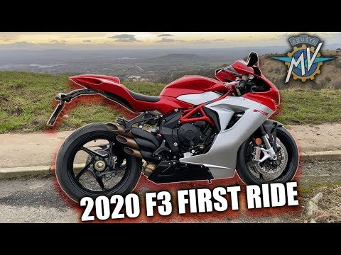 2020 MV Agusta F3 Test Ride - First Ride In The UK!