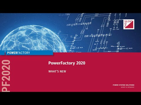 What's New In PowerFactory 2020