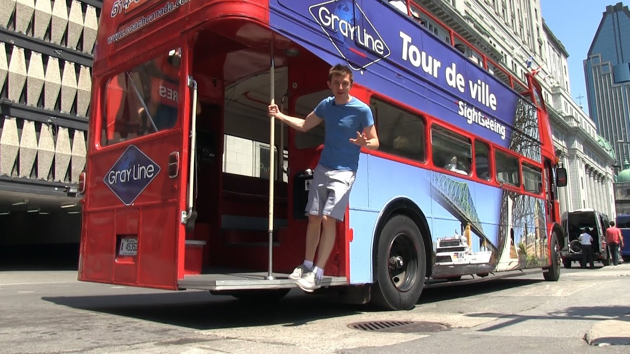Montreal City Hop-on Hop-off Tour
