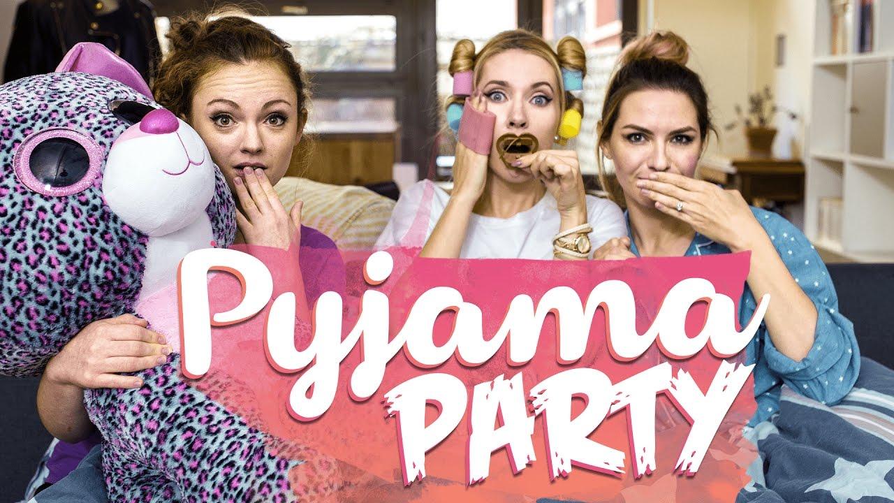 PYJAMA PARTY ENTRE FILLES ! 🌙 avec Sophie Riche, Lilith Moon et Estelle Blog Mode - YouTube