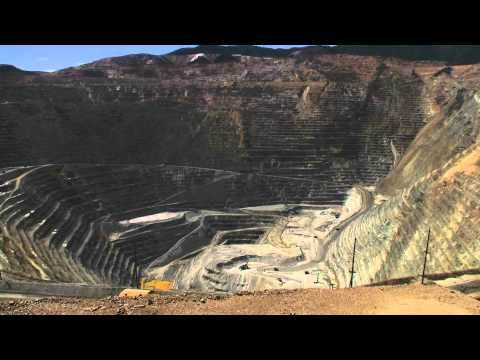 Kennecott Copper Mine Time Lapse From The Visitors Center 1