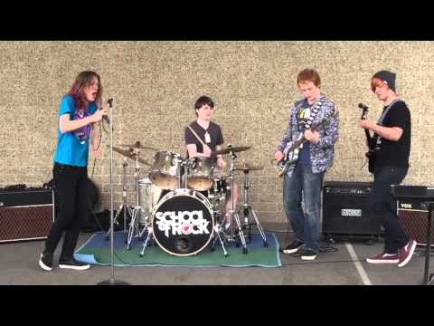 """Seattle School of Rock House Band Day of Arts show """"Helter Skelter"""" set 1"""