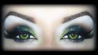 Sexy Halloween Makeup Tutorial - The Wicked Witch of the West (Theodora, Zelena or whatever...)