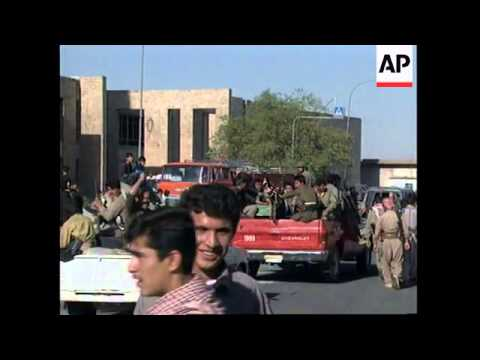 IRAQ: KURDS FLEE SULAYMANIYAH AS SADDAM HUSSEIN'S TROOPS INVADE